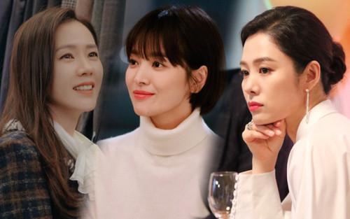 Top 20 nữ diễn viên Hàn hot nhất tháng 9: Song Hye Kyo 'bại trận' trước Son Ye Jin - Kim Hyun Joo