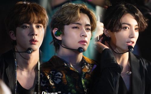 Xuýt xoa trước nhan sắc của BTS phía sau hậu trường: Jin, V và Jungkook tựa hoàng tử 'vạn người mê'