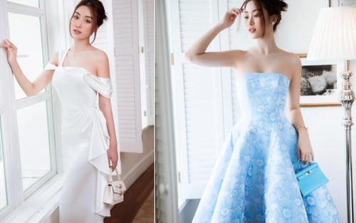 Hoa hậu Đỗ Mỹ Linh đẹp mê hoặc với váy đầm nữ tính sang trọng