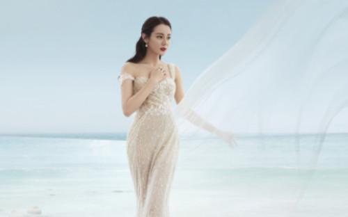 Địch Lệ Nhiệt Ba hóa cô dâu quyến rũ, xinh đẹp nhưng lại bị dân mạng tố photoshop quá đà!