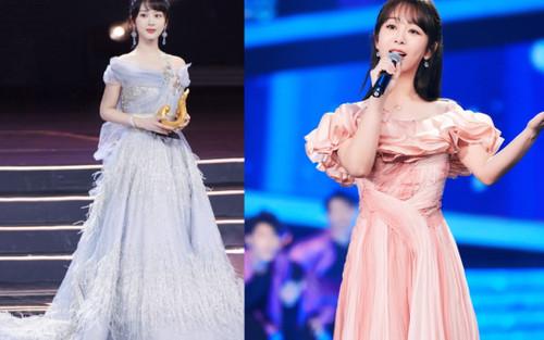 Dương Tử nhiều lần diện váy kém xinh, lộ khuyết điểm hình thể tại các sự kiện trang trọng