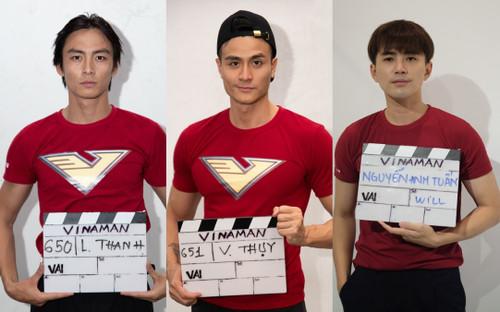 Lộ diện 10 ứng viên sáng giá cho vai siêu anh hùng VINAMAN: Will, Vĩnh Thụy, Lãnh Thanh cùng dàn 'trai đẹp' tranh tài