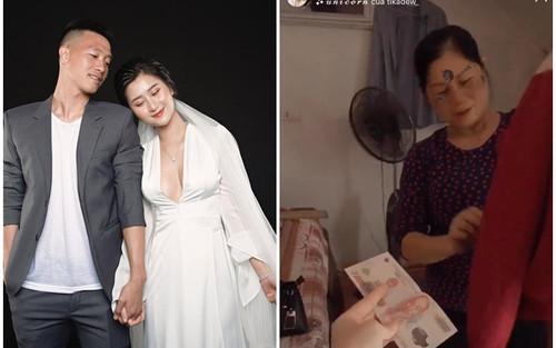 Hot girl Hải Phòng tặng quà 20/10 cho mẹ sao tuyển Việt Nam
