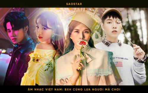 Âm nhạc Việt Nam: Cần có một BXH ra trò, thay vì những cuộc đua top trending chớp nhoáng