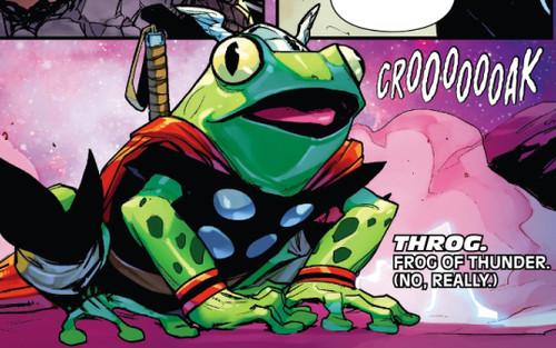 Throg - chú ếch Thần Sấm của Marvel sẽ trở lại trong thời gian tới