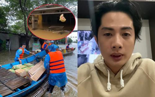 Huỳnh Phương FapTV lên tiếng khi bị chỉ trích ném đồ cứu trợ cho đồng bào miền Trung