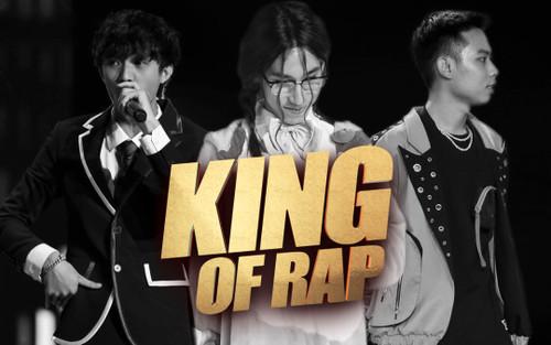 Wxrdie - Chị Cả - Nhật Hoàng bị loại trước chung kết King Of Rap: Cuộc chiến giữa các rapper quá khốc liệt