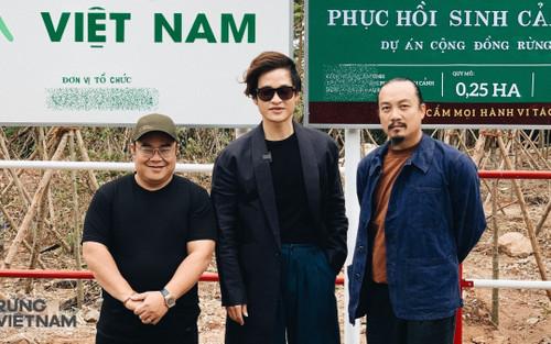 Rừng Việt Nam: Dự án cộng đồng ý nghĩa từ Hà Anh Tuấn