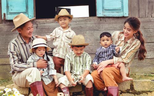 Thành Đạt - Hải Băng đưa các con trải nghiệm cuộc sống nông thôn, thông báo 'chốt sổ' thành viên