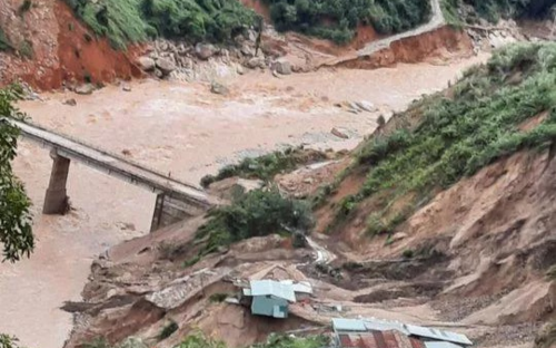 Quảng Nam: Hơn 200 công nhân xây dựng thủy điện Đắk Mi 2 bị cô lập