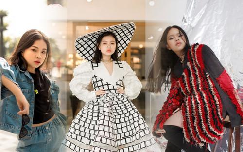 Mẫu nhí Sài thành 11 tuổi tạo dáng high fashion không thua kém các đàn chị sành sỏi