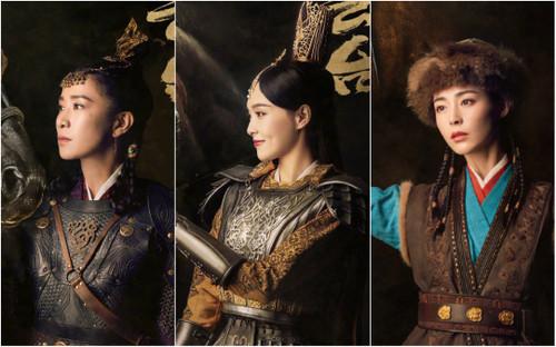 Có tuổi nhưng phải diễn vai trẻ ở 'Yến vân đài': Xa Thi Mạn nếp nhăn thấy rõ, Đường Yên cất công makeup