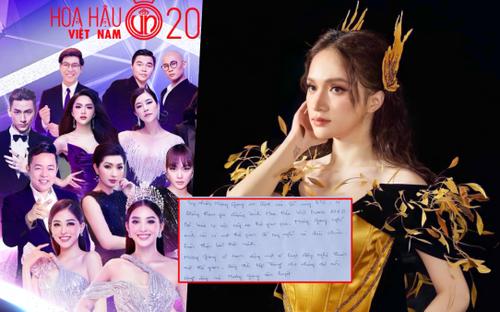 Bị tẩy chay, Hương Giang xin rút khỏi đêm diễn Hoa hậu Việt Nam, tạm dừng hoạt động nghệ thuật