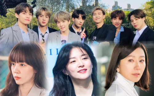 6 nữ minh tinh hàng đầu Hàn Quốc 'mê mệt' BTS: 'Đu idol' bất chấp tuổi tác!