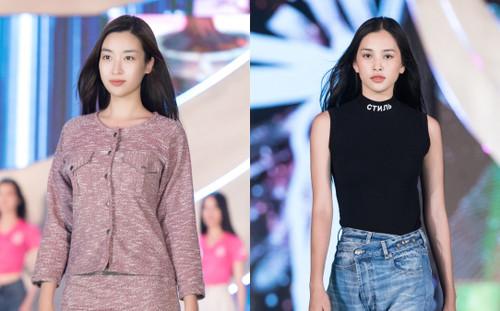 Hoa hậu Đỗ Mỹ Linh, Tiểu Vy để mặt mộc, đẹp thần thái thu hút sự chú ý bao người
