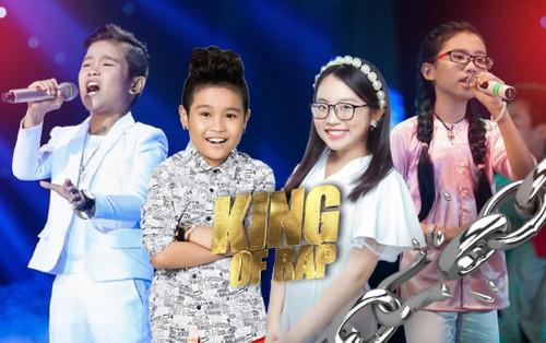 Chung kết King Of Rap: Quán quân The Voice Kids Nhật Minh - Á quân Phương Mỹ Chi lần đầu hát cùng Rapper