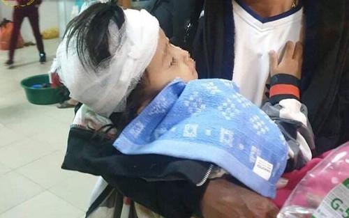Vụ bố chồng ở Hà Tĩnh đánh con cháu nhập viện: Con dâu đang mang thai, cháu gái vỡ hộp sọ