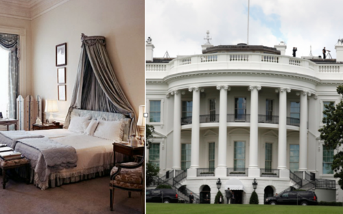 Cận cảnh nơi ở của gia đình tổng thống Mỹ trong Nhà Trắng