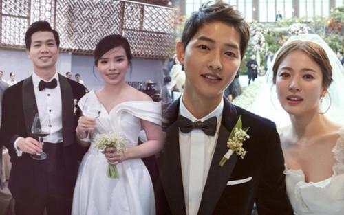 Soi hoa cưới vợ Công Phượng: Giống Song Hye Kyo và Công nương Kate Middleton trong hôn lễ thế kỷ!