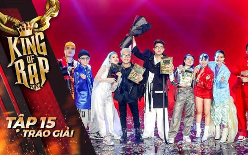 ICD lên ngôi quán quân giành lấy giải thưởng 1 tỷ đồng KING OF RAP mùa đầu tiên