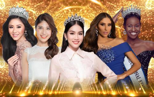 Phương Anh 'chinh chiến' Miss International, đối đầu hoa hậu Venezuela - Kenya - Canada tài sắc vẹn toàn