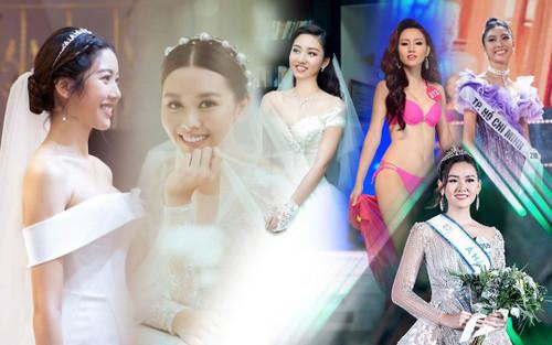 Á hậu Việt Nam kết hôn trong nhiệm kỳ như Tường San: Thúy Vân - Diễm Trang - Trà My hạnh phúc viên mãn