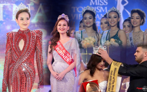 Hoa hậu Khánh Ngân quá 'đen đủi': Từ Miss Globe đến Hoa khôi Du lịch đều không thể trao vương miện