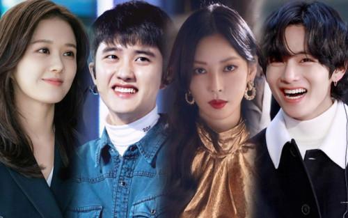 Bình chọn 15 sao Hàn ngây thơ không lạm dụng quyền lực: D.O. - V (BTS) dẫn đầu, ác nữ 'Penthouse' có mặt