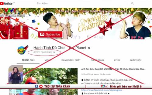 Bộ TT&TT công bố 4 kênh YouTube có nội dung nhảm nhí bị Google gỡ bỏ, tắt kiếm tiền