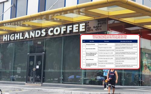 Khẩn: Những ai từng đến quán cà phê, quán karaoke, phòng gym này... cần liên hệ ngay với cơ quan y tế