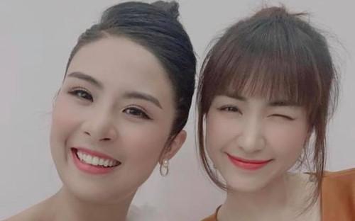 Hoa hậu Ngọc Hân mắc sai lầm trầm trọng khi đăng ảnh chụp cùng Hòa Minzy