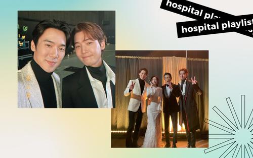 Dàn sao 'Hospital Playlist' hội ngộ ở hậu trường MAMA 2020