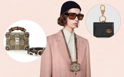Gucci ra mắt bộ đôi bao da cho AirPods và AirPods Pro với giá trên trời