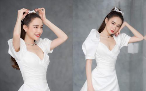 Sau scandal bị Linh Chi 'giành ghế', Nhã Phương khoe nhan sắc ngọt ngào đốn tim