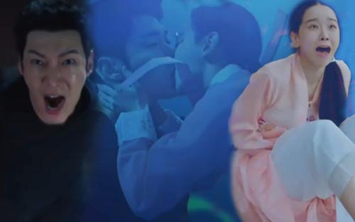 'Mr. Queen' tập 1: Choi Jin Hyuk xuyên không biến thành phụ nữ vì lỡ hôn Shin Hye Sun