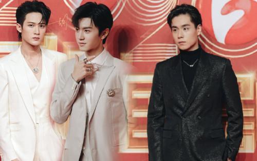 Thảm đỏ 'Quốc kịch thịnh điển 2020': Hai mỹ nam 'Sát phá lang' hội ngộ, Hồ Nhất Thiên tỏa sáng