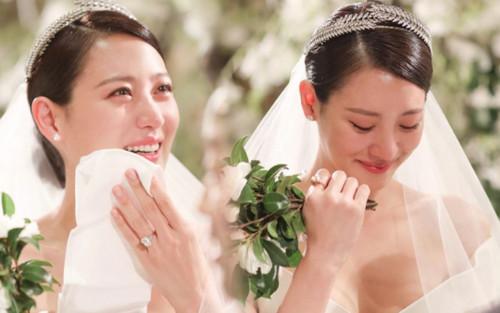 Kim Soo Hyun khóc nghẹn trong đám cưới