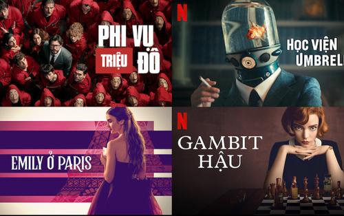 Cùng nhìn lại 4 series phim Hollywood đã oanh tạc BXH Netflix tại Việt Nam trong năm 2020