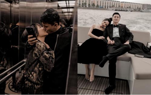 Mặc lời dèm pha, Huỳnh Anh 'khóa môi' bạn gái 'single mom' táo bạo