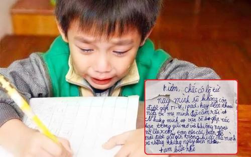 Cậu bé lớp 3 với tâm thư gửi 3 'người bạn' đặc biệt khi sắp chia tay: 'Mình vẫn sẽ gặp các bạn trong mơ'