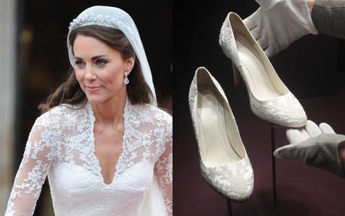 Bí ẩn tủ đồ Hoàng gia: 10 đôi giày cao gót huyền thoại trong đám cưới Hoàng gia và Hollywood