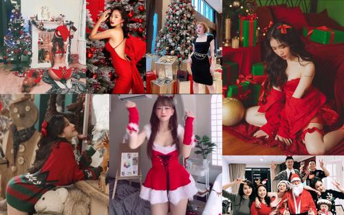Dàn hotgirl mạng xã hội khoe ảnh Giáng sinh: Người kín cổng cao tường, kẻ mặc kệ trời lạnh vẫn gợi cảm