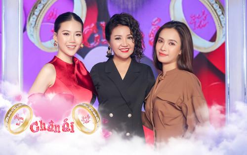 Nghệ sĩ Ngân Quỳnh, ca sĩ Ái Phương và siêu mẫu Quỳnh Hoa hội ngộ, đảm nhận vai trò cố vấn Chân ái