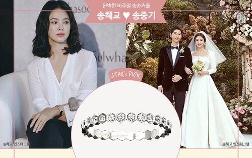 Soi nhẫn cưới của 5 cặp vợ chồng hot Hàn Quốc: Song Hye Kyo sang chả kém Kim Tae Hee