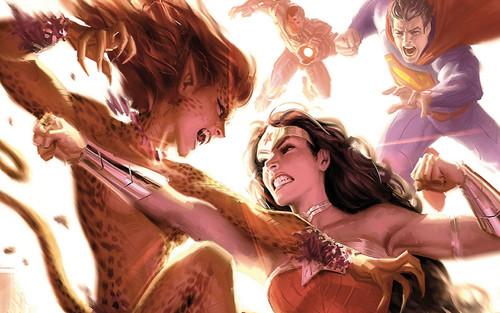 Vũ trụ DC: Tốc độ của Cheetah và Wonder Woman nhanh đến đâu? (P.1)
