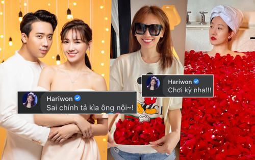 Trấn Thành tiết lộ bí mật đằng sau loạt ảnh kỷ niệm 4 năm ngày cưới, phản ứng của Hari Won gây bất ngờ