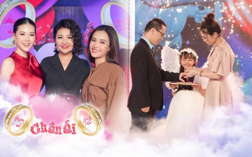 Nghệ sĩ Ngân Quỳnh cùng ca sĩ Ái Phương, siêu mẫu Quỳnh Hoa 'đẩy thuyền' cặp đôi đến quyết định cầu hôn