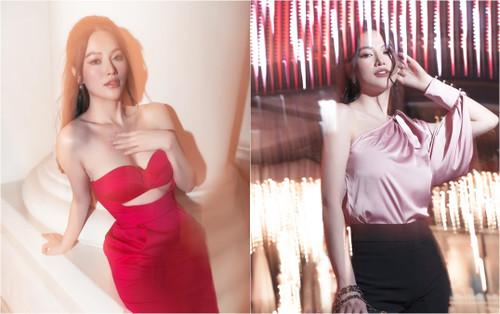 Hoa hậu Phương Khánh xuống phố với set đồ cá tính khiến fan say đắm