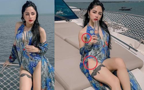 Huỳnh Anh khoe ảnh người yêu nóng bỏng, Bạch Lan Phương bị soi khuyết điểm chỗ 'nhạy cảm'