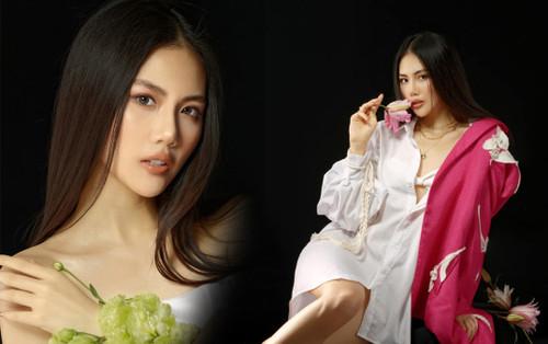 Quỳnh Hoa quyết tâm thi Hoa hậu Hoàn vũ Việt Nam 2021, ao ước nhận vương miện từ Khánh Vân